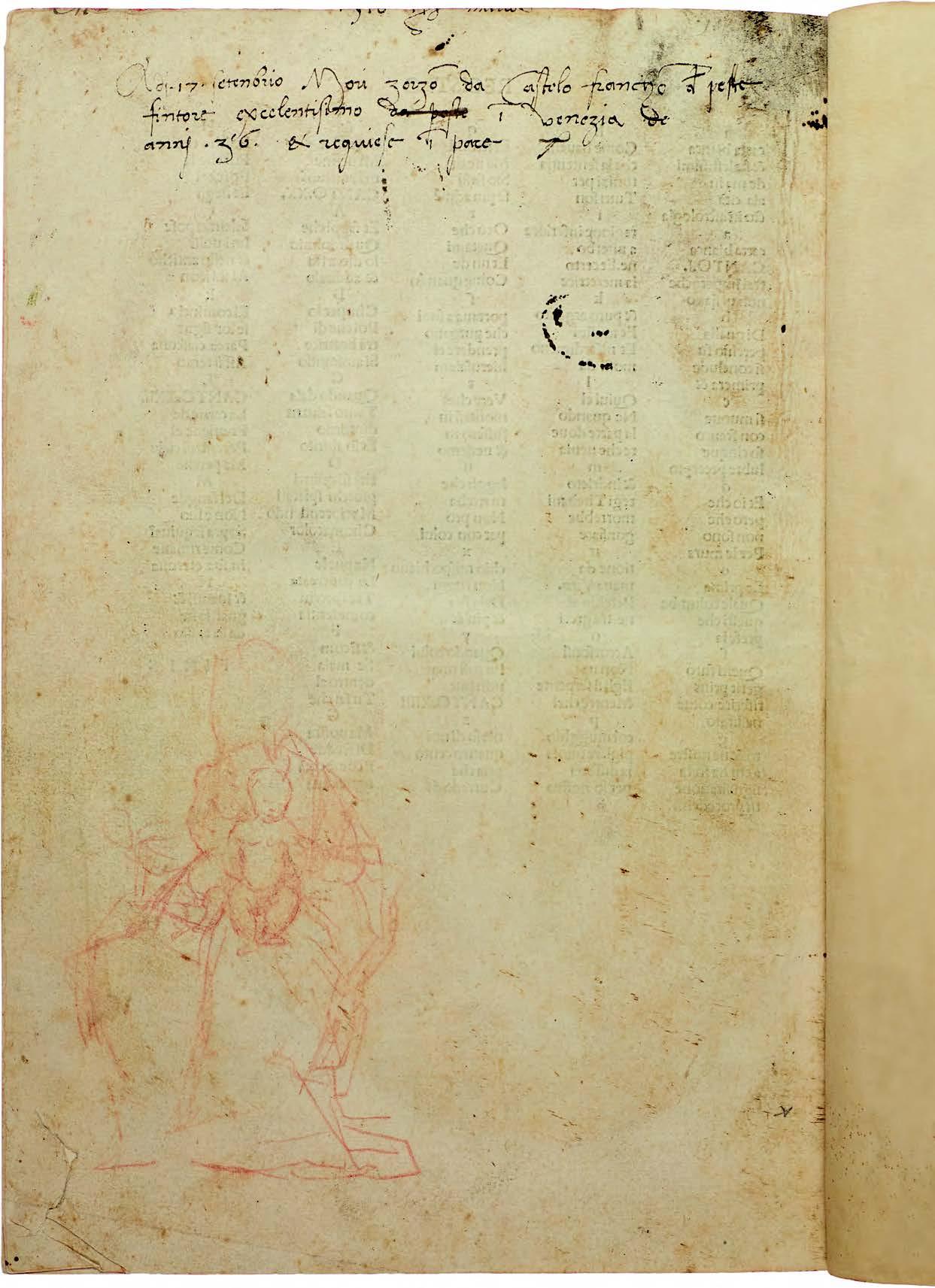 Sydney Rare Book Week 2019: Giorgione in Sydney