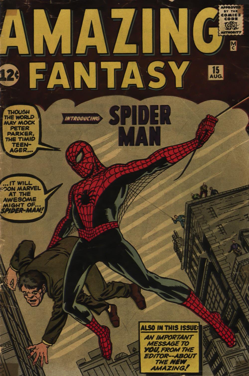 Rare Bites Series: Exploring Amazing Fantasy #15: The genesis of Spider-Man