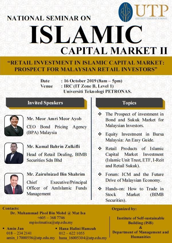 National Seminar on : Islamic Capital Market II