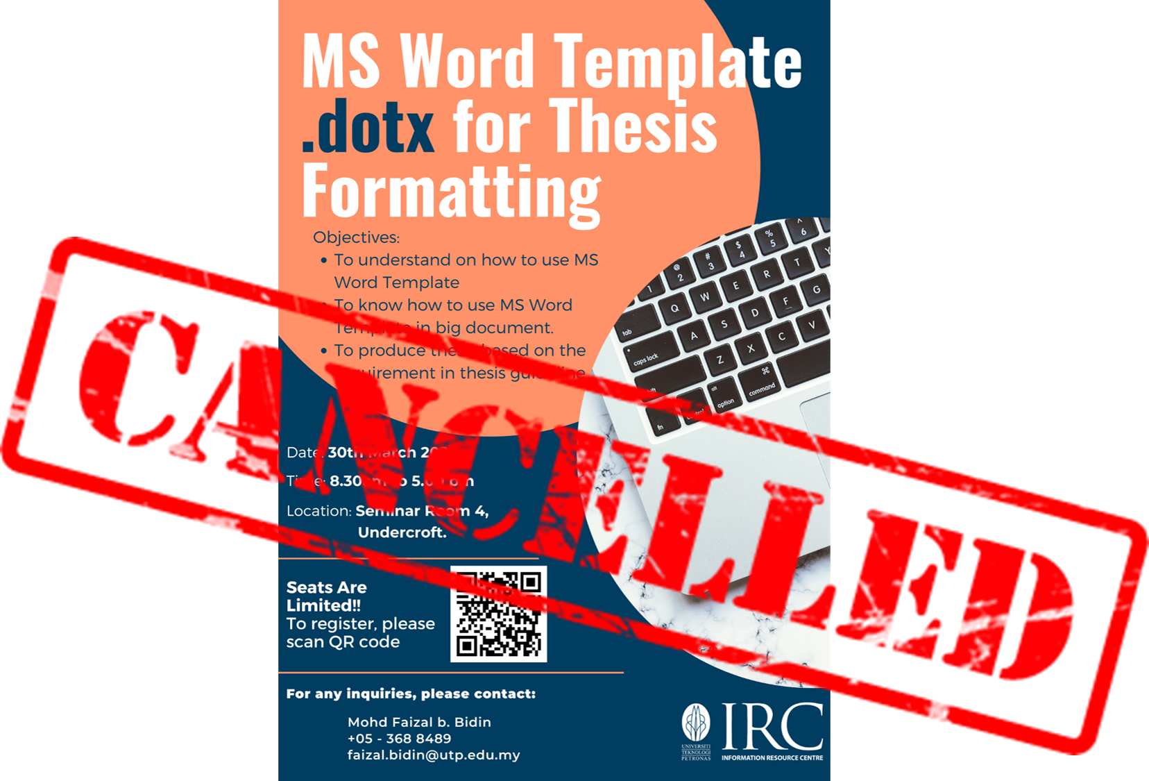 MS Word Template .dotx for Thesis Formatting
